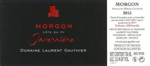 Morgon Javernière